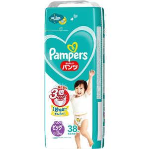 P & G Pampers(パンパース) さらさらケア パンツ ビッグサイズ(12kg-22kg) 38枚〔おむつ〕 パンパースSケアPSJB38