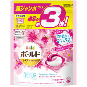 P &G ボールド ジェルボール3D 癒しのプレミアムブロッサム 詰替 超ジャンボ 46個 BDB3DPブロッサムSJ