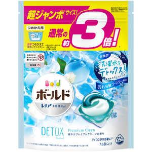 P &G ボールド ジェルボール3D 爽やかプレミアムクリーン 詰替用 超ジャンボ 46個 BDB3DクリンカエSJ