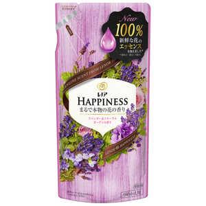 P &G Lenor(レノア) レノアハピネス ナチュラルフレグランス ラベンダー&フローラルガーデンの香り つめかえ用 400ml レノアHPラベンダーカエ