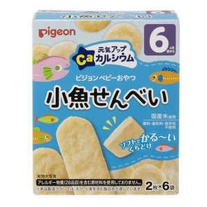 ピジョン 離乳食・ベビーフード 2枚x6 ゲンキアップコザカナセンベイ