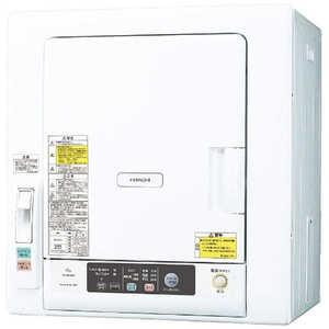 日立 HITACHI 衣類乾燥機[乾燥容量6.0kg] W DEN60WV