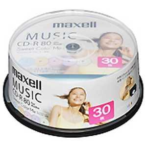マクセル 音楽用CD-R 80分 30枚スピンドルケース 80R30P CDRA80PSM.30SP