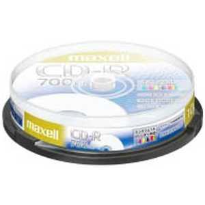 マクセル 1~48倍速対応 データ用CD-Rメディア (700MB・10枚) 80R10P52S CDR700S. PNW.10SP