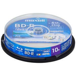 マクセル 録画用 BD-R 1-4倍速 25GB 10枚「インクジェットプリンタ対応」 1L10SP BRV25WPE.10SP
