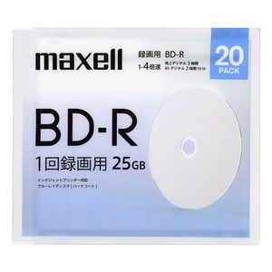 マクセル 録画用ブルーレイディスクBD-R 20枚パック BRV25WPE.20SBC