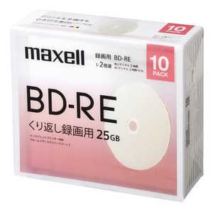 マクセル 録画用ブルーレイディスクBD-RE 10枚パック 1L10P#PB BEV25WPE.10SBC