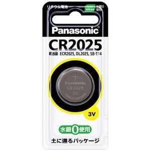 パナソニック Panasonic コイン形リチウム電池 x1CR2025 CR2025P