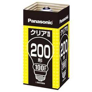 パナソニック Panasonic クリア電球(200形・口金E26) L100V200WE26155CM