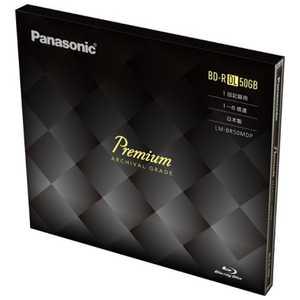 パナソニック Panasonic データ用BD-R DL(6倍速対応/50GB/1枚/油性ペン対応) LMBR50MDP