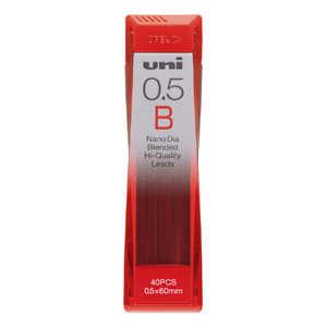 三菱えんぴつ 「シャープ替芯」ユニ「ナノダイヤ」(硬度:B・芯径:0.5mm) U05202NDB