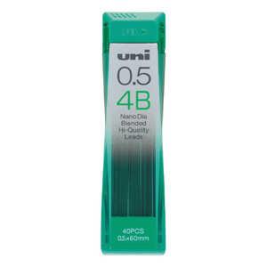 三菱えんぴつ 「シャープ替芯」ユニ「ナノダイヤ」(硬度:4B・芯径:0.5mm) U05202ND4B