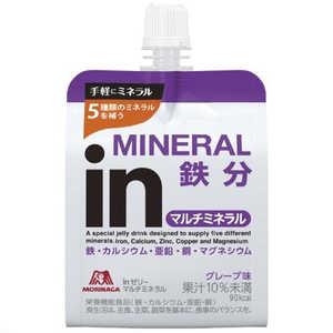 森永製菓 ウイダーin ウイダーinゼリー マルチミネラル「グレープ風味/180g」 1P C6JMM54400