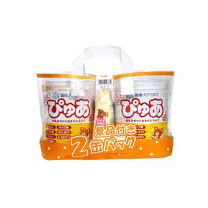 雪印メグミルク ぴゅあ 820g×2缶