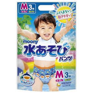 ムーニー 水あそびパンツ 男の子用 Mサイズ 6〜12kg 3枚入 製品画像