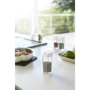 山崎実業 スパイスボトル アクア ホワイト(Spice Bottle AQUA WH) ホワイト ホワイト 02880