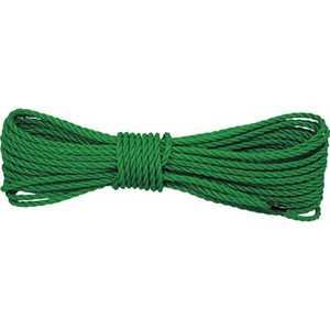 ユタカメイク ロープ PEロープグリーン 5φ×10m 5x10m A68