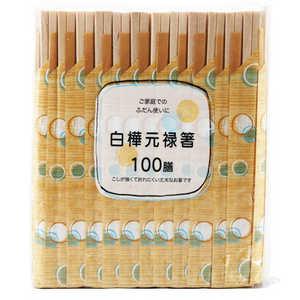 ダイワ物産 大和元禄箸袋水玉 100膳 100P 20649