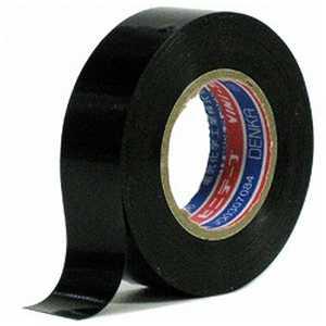 電気化学工業 ビニールテープ19×10M/BK ブラック #10119X10MBK