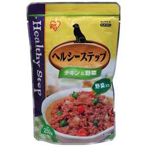ヘルシーステップレトルト チキン&野菜 250g