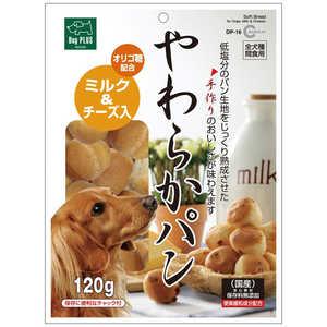 マルカン犬猫 やわらかパン ミルク&チーズ入り 120g DP16