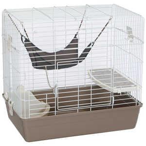 マルカン フェレットのリビングルームキット チャコール 小動物 フェレットルームチャコール