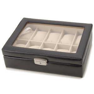 ロイヤルハウゼン 牛革製時計ケース (10本用) 189995 収/10本