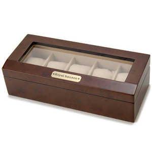 ロイヤルハウゼン 木製時計収納ケース(5本用) 収/5本 189962