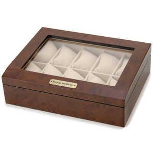 ロイヤルハウゼン 木製時計収納ケース(10本用) 収/10本 189963