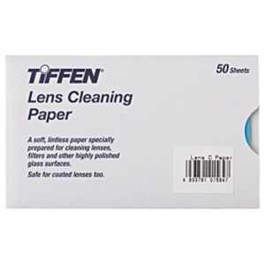 銀一 TIFFEN レンズクリーニングペーパー(50枚入り) 50シート ティッフェンレンズクリーニングペー