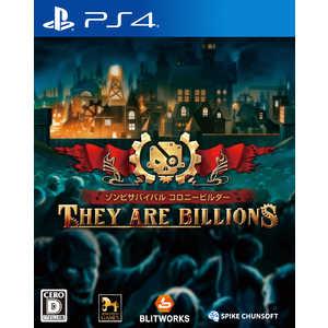 スパイクチュンソフト PS4ゲームソフト ゾンビサバイバル コロニービルダー They Are Billions PLJS36149 ゾンビサバイバルコロニービルタ