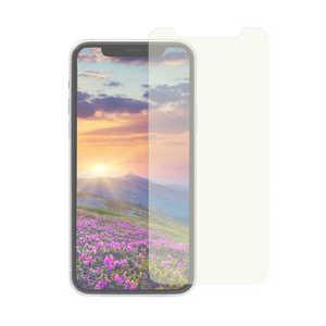 OWLTECH iPhone 11 Pro 5.8インチ 画面保護ガラス フレームレス 貼付けキット付き 3次強化ガラス 0.26mm厚 マット&ブルーライトカット マットBLC OWLGUIB58AB