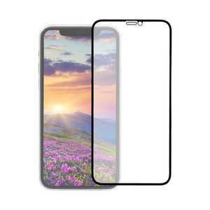 OWLTECH iPhone 11 Pro 5.8インチ 画面保護ガラス 全面保護 貼付けキット付き 3次強化ガラス 0.33mm厚 GLASSフレーム マット ブラックマット OWLGUIB58FBAG