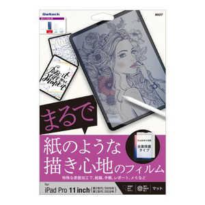 OWLTECH iPad Pro11inch(第2世代)用 紙のような描き心地のフィルム マットタイプ OWLPFIC11AG