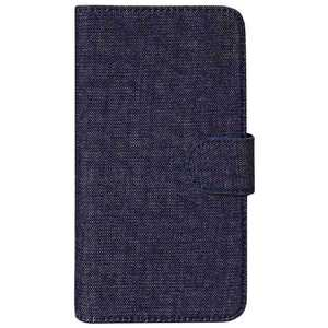 OWLTECH スマートフォン用[幅 73mm/5.2インチ] デニム生地 手帳型マルチケース デニム デニム OWLCVMUM09DEI