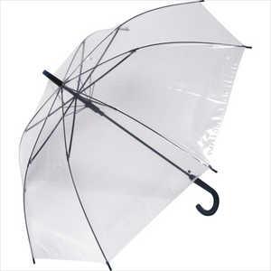 中谷 ビニール長傘 NON SLIP TYPE(ノンスリップ) NAVY NN-1160 [雨傘 /60cm] ネイビー6 NN1160