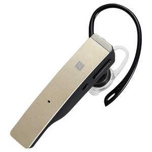BUFFALO ワイヤレスヘッドセット ゴールド BSHSBE500GD