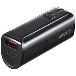 BUFFALO モバイルバッテリー[3350mAh/1ポート] ブラック BSMPB3318P1BK
