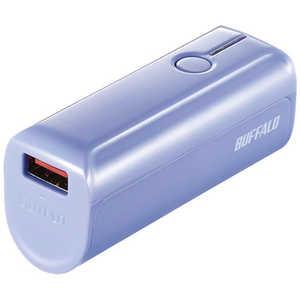 BUFFALO モバイルバッテリー[3350mAh/1ポート] ブルー BSMPB3318P1BL