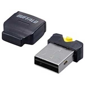 BUFFALO microSD/microSDHC専用カードリーダライタ ブラック BSCRMSDCBK