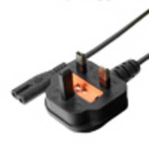ミヨシ 海外対応電源ケーブル BFタイプ 60cm 0.6m MBCTBF06