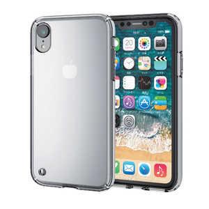 エレコム ELECOM iPhone XR 6.1インチ用 ハイブリッドケース クリア PMA18CHVCCR