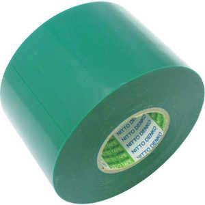 日東 ビニールテープNo.21トク 0.2mm×75mm×20m 緑 2巻入り ドットコム専用 2175GN