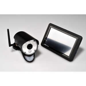 ユニデン センサーライト付ワイヤレスセキュリティカメラ・モニターセット(ガーディアン) UCL9001