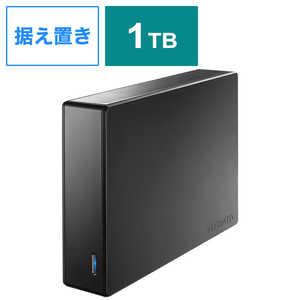 IOデータ 外付けHDD [据え置き型 /1TB] 受発注商品 HDJAUT1WLD