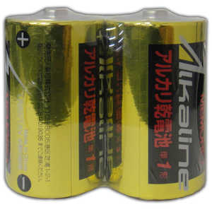 MEMOREX 単1電池 [2本 /アルカリ] 2本パック LR201.5V2S