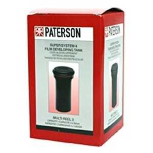 パターソン スーパーシステム4現像タンク マルチリール3タンク(リール無) PTP116