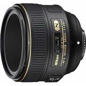 ニコン Nikon 交換レンズ「AF-S NIKKOR 58mm f/1.4G」 AFS581.4G