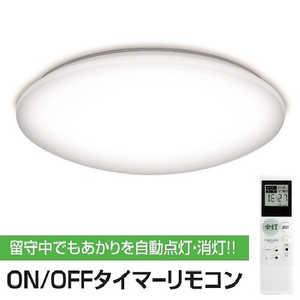 瀧住 タキズミ LEDシーリングライト ON/OFFタイマーリモコン搭載 RTB80146