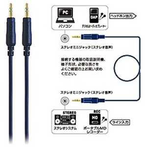 オーディオテクニカ オーディオケーブル (1.0m) AT344A10